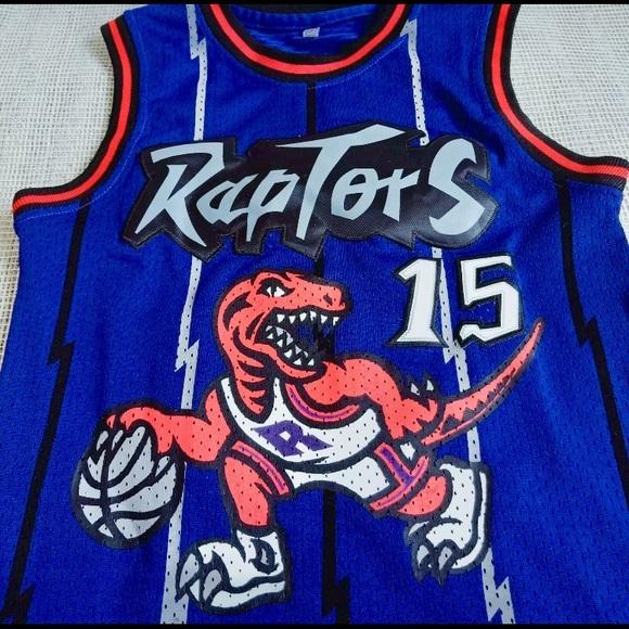 ced4f7b90 Vince Carter Raptors throwback jersey